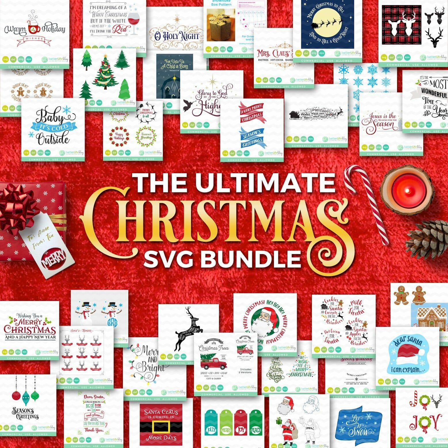 Christmas Svg Bundle Better Life Blog