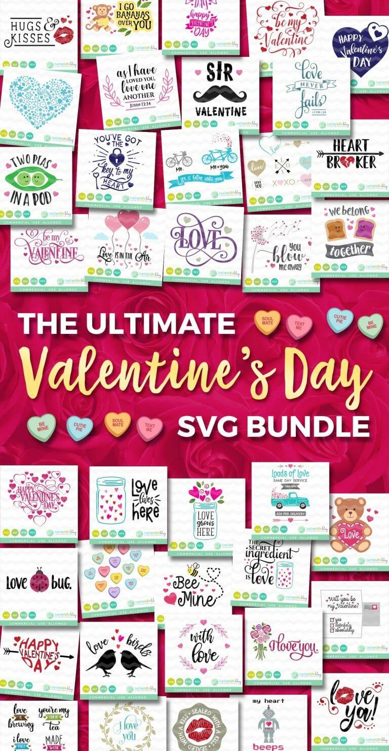 Valentine S Day Svg Bundle Cut Files For Valentine S Day Better Life Blog