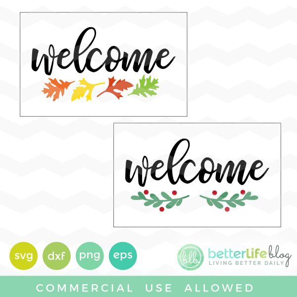 Welcome Door Mats SVG
