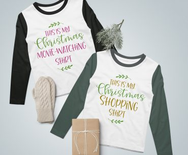 My Christmas Shirt – 2 Variations (FREE SVG Cut File)