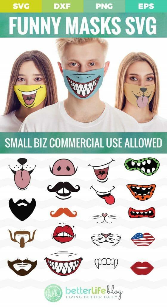 Hilarious Cricut Face Mask Svg Designs Cut File Bundle Better Life Blog