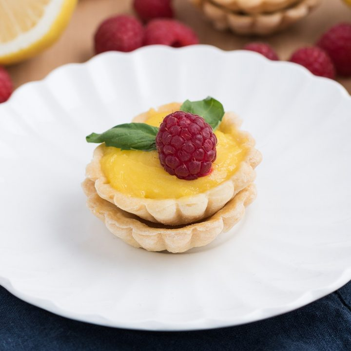 Dessert Lemon Curd Tartlets