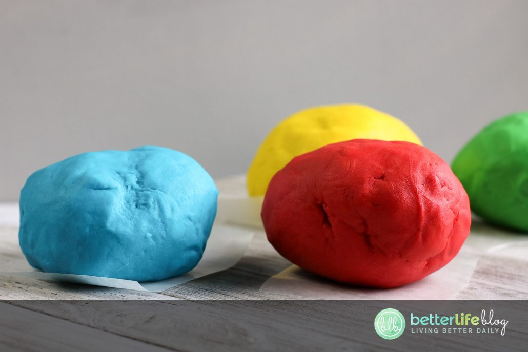 This DIY Playdough is very easy to whip-up and requires very little ingredients. Learn how to make your very own set of colorful playdough in your kitchen!