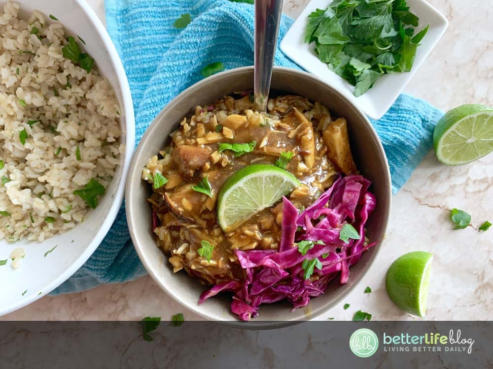 This Instant Pot Teriyaki Chicken pulls its authentic flavors from key ingredients like soy sauce, rice vinegar and cilantro. It's incredibly easy to make and your family will request it over takeout any day!