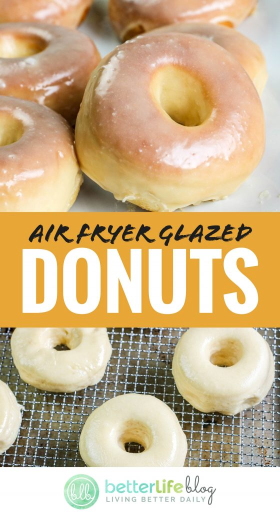 I am a huge donut fiend - and these Air Fryer Donuts taste like the real deal! I can't believe how easy they are to make, without the hassle of having to deep fry and without the oily mess!