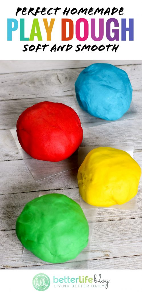 A surefire recipe for colorful DIY Playdough - and great news is, you probably already have all the ingredients in your pantry!