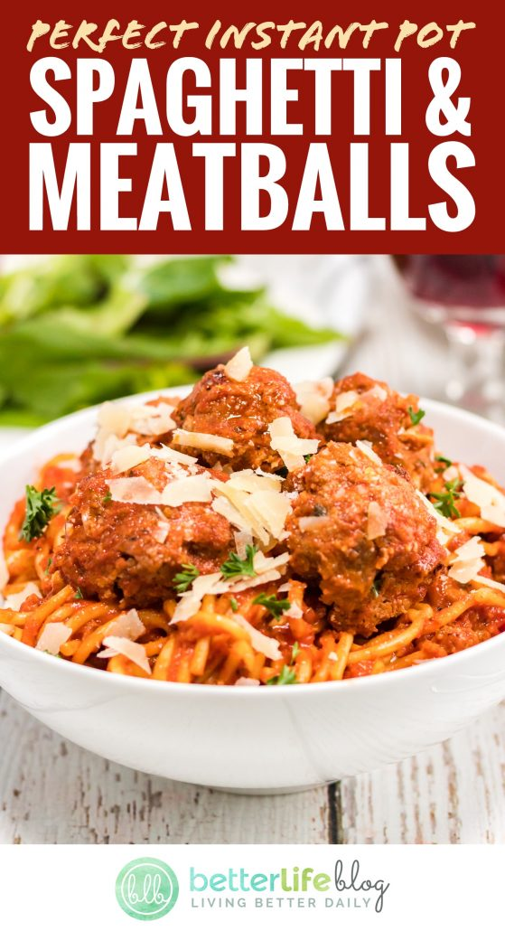 These Instant Pot Meatballs are full of flavor, all thanks to its interesting spice mix which includes garlic powder, Italian seasoning and red pepper flakes. Plus, they're made up of both ground beef and ground pork, making them extra tasty!