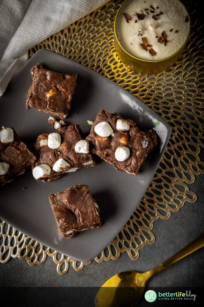 Rocky road is a flavor that'll bring on all kinds of nostalgia and memories. My Rocky Road Fudge is homemade and absolutely delicious, using the three key ingredients of the classic rocky road flavor: marshmallows, chocolate and nuts.