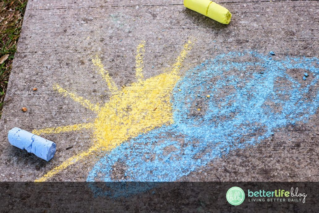 Who wants to make their own DIY Sidewalk Chalk? Check out my easy step-by-step instructions so you can create this childhood favorite from your very own home!