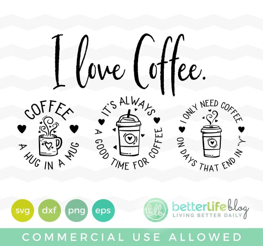 Coffee Lover Badges SVG