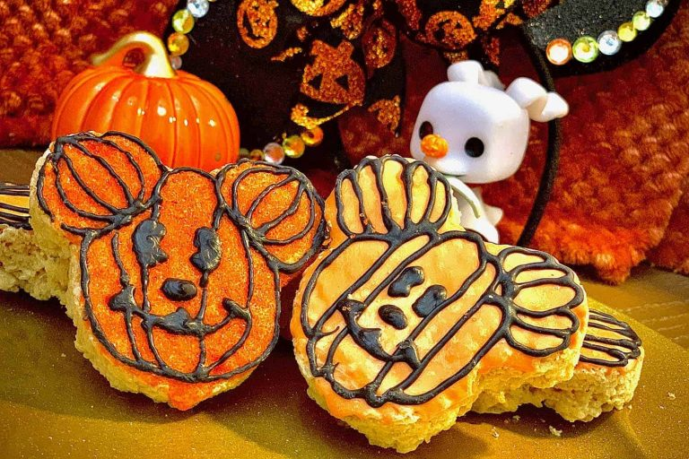 These Easy DIY Mickey Pumpkin Cookies remind of the ones you can find at the Disney parks! These treats are perfect for the fall season, and I can't wait to show you how to make them.