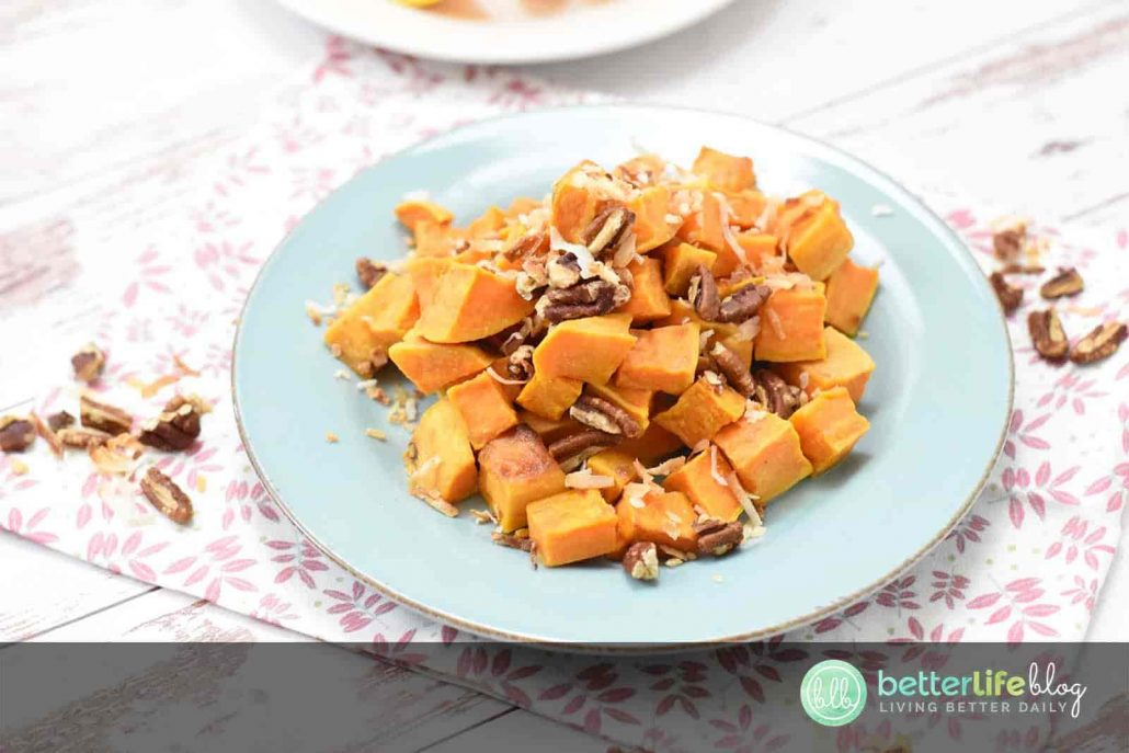 Running out of ideas for your next dinner side dish? My Tropical Sweet Potatoes are out of this world! They're full of flavor, unique texture and are super easy to put together.