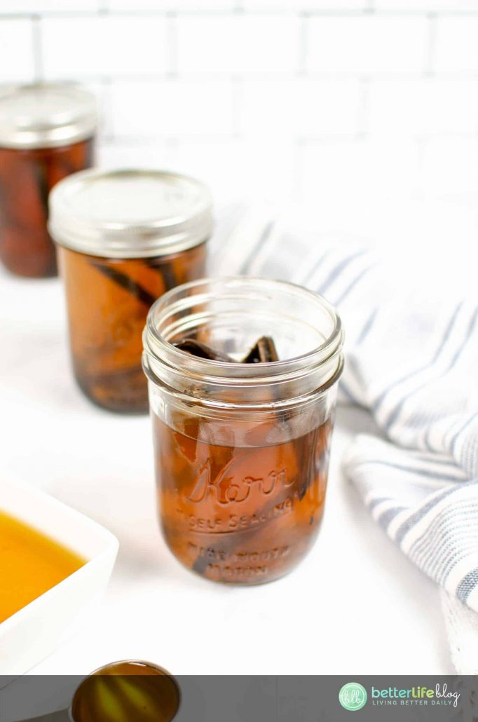 My Instant Pot Vanilla Extract recipe is extremely easy to put together. You'll find that homemade vanilla extract is much tastier than those bottles you find at the store. This batch will take you a long way in your baking endeavors!