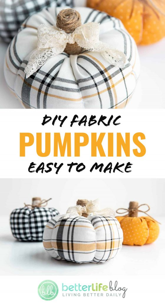 Every autumn, pumpkins become my ultimate weakness - especially when it comes to décor! These DIY Fabric Pumpkins are extremely easy to make. Be sure to follow my simple tutorial to make some of your very own.
