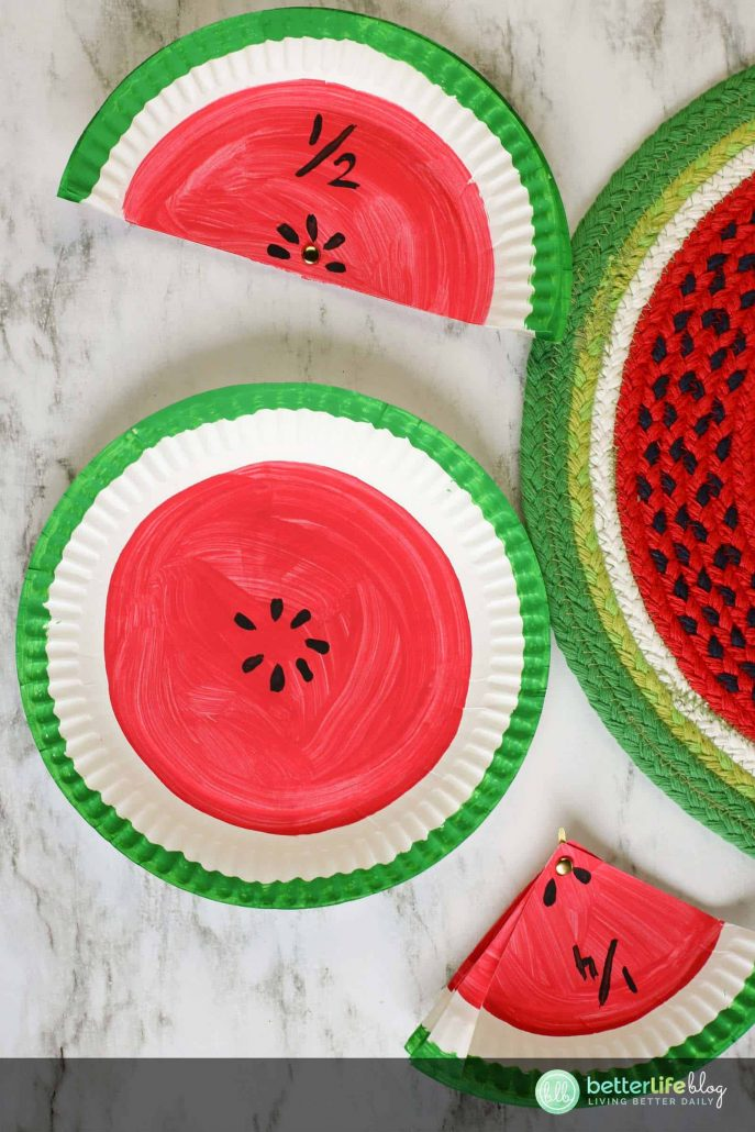 Visual activities make some of the best learning lessons. This Watermelon Fractions Kids Activity is a great visual aid to effectively teach your kids all about fractions.