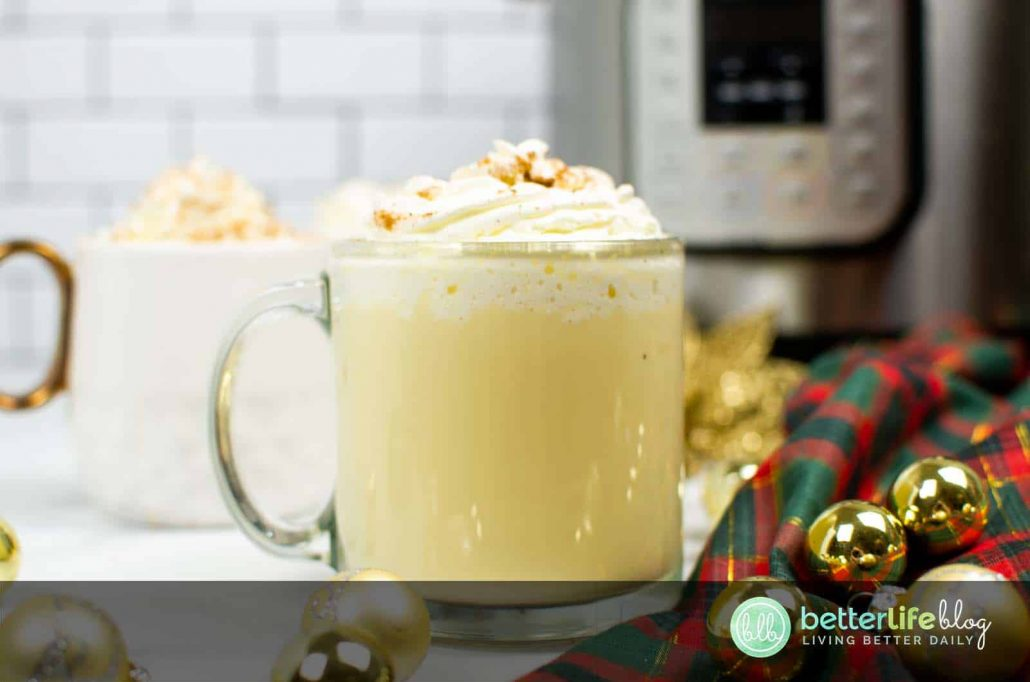 Though it's made with very few ingredients, my Instant Pot Eggnog Recipe is jam-packed full of flavor. Bring on the holidays! You'll want to make this recipe all season long.