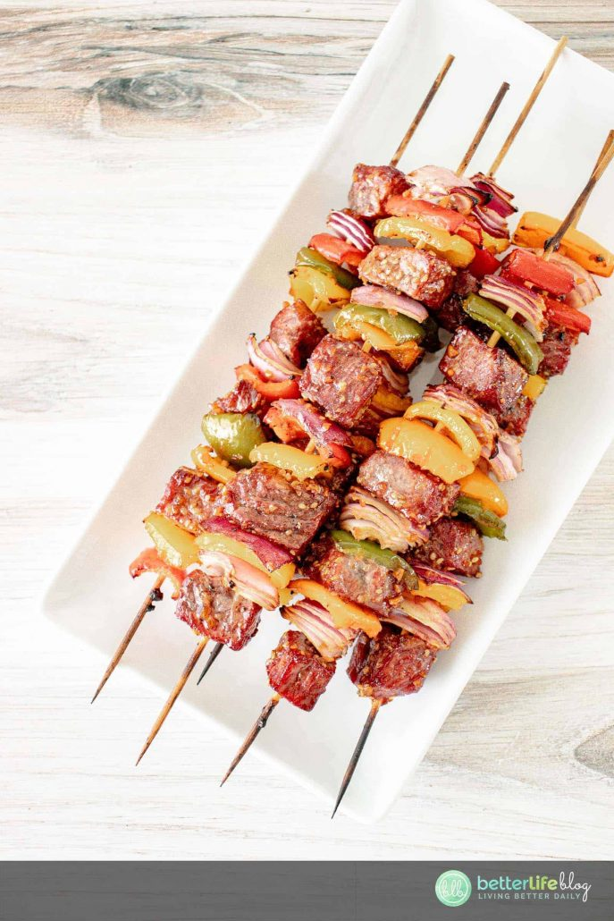My easy Grilled Teriyaki Steak Kebabs recipe is one for the books. With my step-by-step instructions, you'll be making kebabs like a grill pro! Full of flavor with its homemade teriyaki marinate, your dinner guests will be requesting for more!