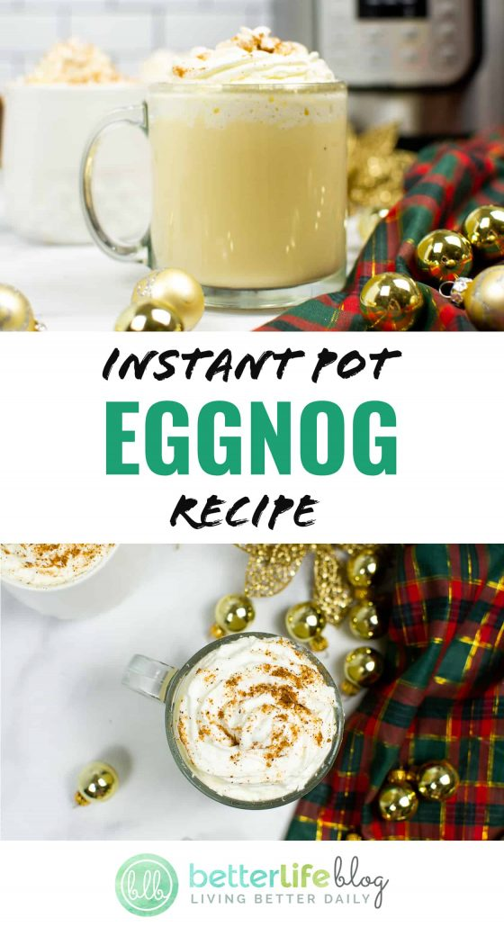 If you're feeling the holiday spirit, you're in for a treat. My Instant Pot Eggnog Recipe is incredibly easy to whip-up and is full of delicious flavor!