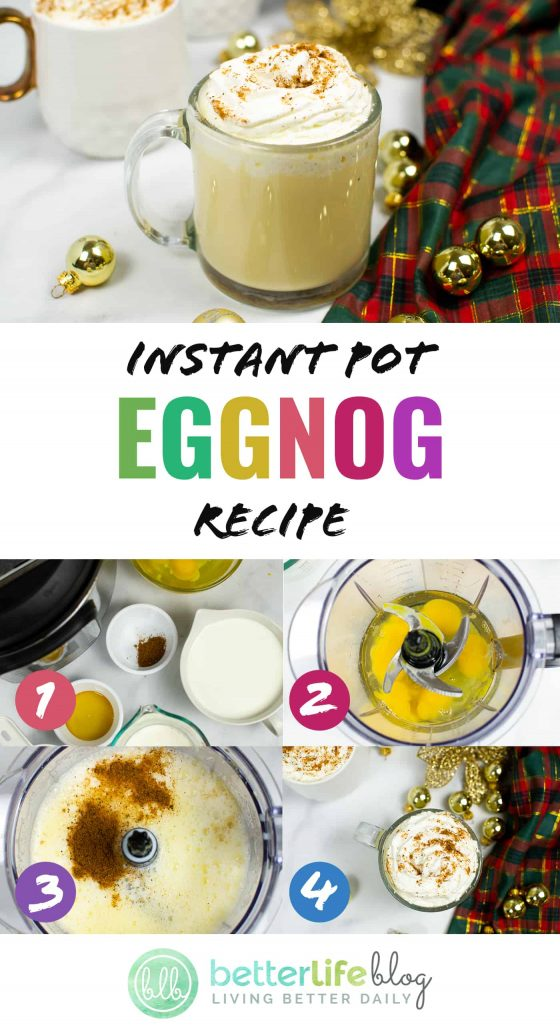 Instant Pot Eggnog Recipe - an easy beverage to put together in your trusty Instant Pot machine. Follow our easy recipe to make a batch for your family!